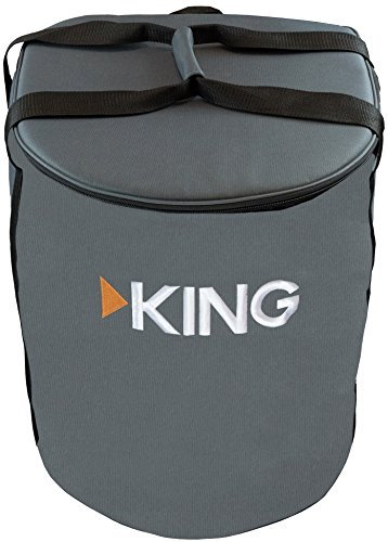 KING CB1000 Carry Bag for Portable Satellite Antenna,Gray