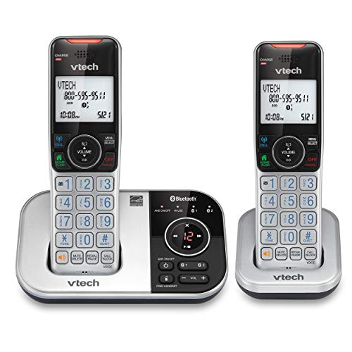 VTECH VS112-2 DECT 6.0 Bluetooth 2 Handset...