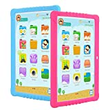 3G Tablet Bambini,SANNUO 10 Pollici Kids Tablet con WiFi (Android 9.0, Quad-Core, 2+ 16 GB, Doble Cámara, Google Play, Juegos Educativos)
