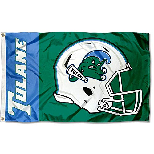 College Flags & Banners Co. Tulane Green Wave Football Helmet Flag (Misc.)