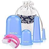 Ventouse Anti-Cellulite, RIRGI 5PCS Rouler Minceur Anti- Cellulite Masseur...