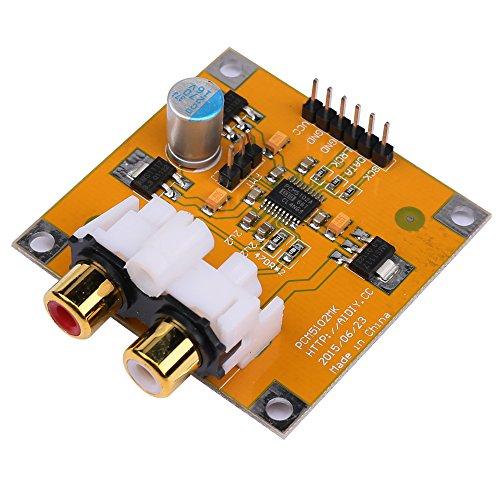 Prament PCM5102 / PCM5102A DACデコーダボードI2S 32ビット384K用Raspberry Pi Red Core Player COD