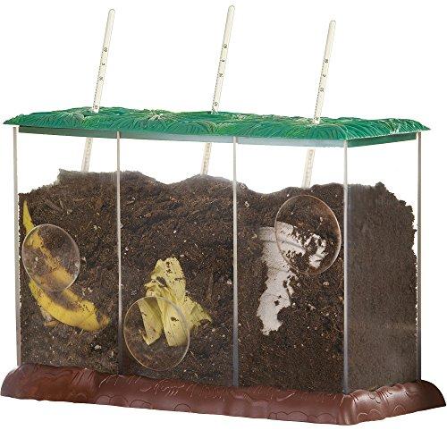 Learning Resources- Contenedor de Compost Transparente See It, Now You Don't, Color (EI-5095) , color/modelo surtido