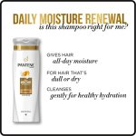 Pantene Pro-V Daily Moisture Renewal Shampoo and Conditioner Bundle (Packaging May Vary) 13