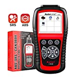 Autel Autolink AL619 Scan Tool with ABS/ SRS Airbag Warning Light OBD2 Scanner, Turn Off Check Engine Light Automotive Diagnostic Tool, Quick Test On The Engine System Scan Tool