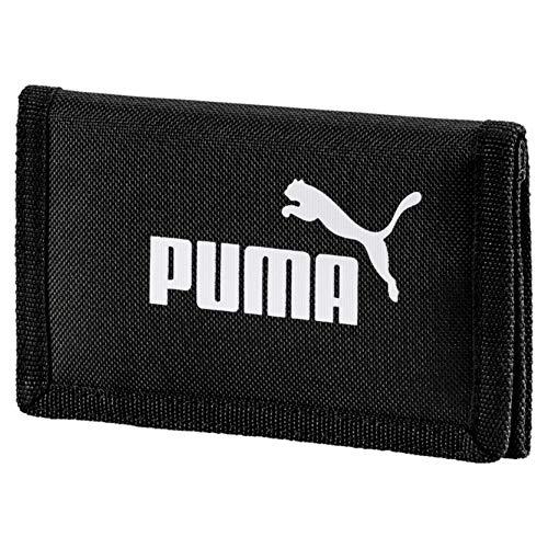 PUMA Phase Wallet Geldbeutel, Black, OSFA
