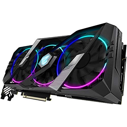 Gigabyte Nvidia RTX2080 Super Aorus 8G Fan GDDR6 DP/HDMI PCI Express scheda grafica GV-N208-SAORUS-8GC