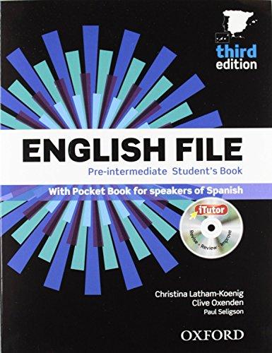 English file pre-intermediate Student´s Book + Printed Workbook with Key + Online Skills Practice,