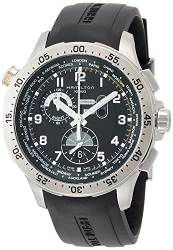 Hamilton Khaki Aviation Damen-Armbanduhr 45MM Schweizer Quarz ANALOG H76714335