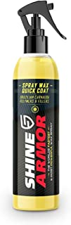 SHINE ARMOR Car Wax with Carnauba Wax – Liquid Spray Wax for Car – Hybrid..