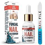 Excelente Tratamiento Destructor de Uñas Antifúngico para Uñas    Adecuado para uñas de mano y ...