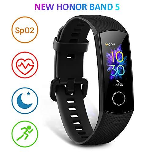 HONOR Band 5 Activity Tracker, Uomo Donna Smartwatch Orologio Fitness Cardiofrequenzimetro da Polso...