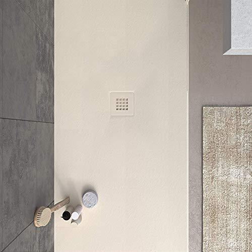 VAROBATH -Plato de ducha de Resina, medida GRANDE - Color Cr