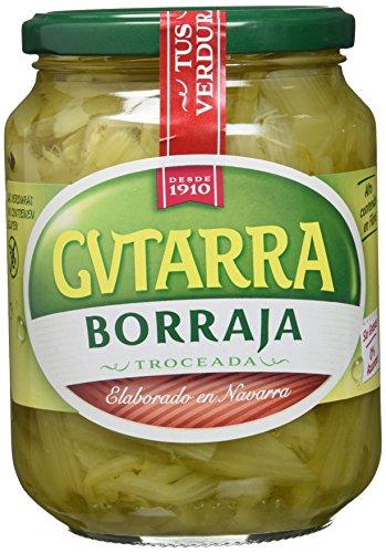 Gvtarra Borraja Verdura - Paquete de 6 x 400 Gramos