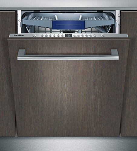 Lave vaisselle encastrable Siemens SN636X01KE - Lave vaisselle tout integrable 60 cm - Classe A++ / 46 decibels - 13 couverts - Tiroir a couvert