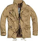 Brandit M-65 Giant Jacket, Beige (Camel 70), Small Homme
