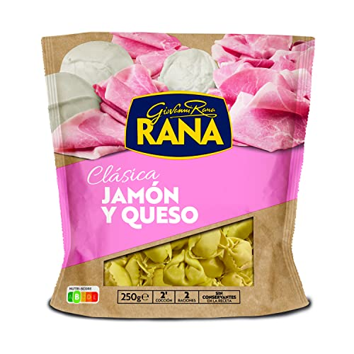 Rana Pasta Clásica Tortellini Jamón y Queso, 250g