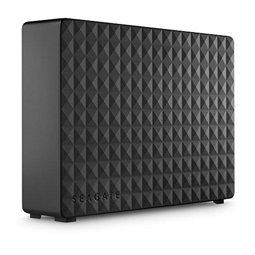 Seagate Expansion Desktop, 4 TB, Disco duro externo, HDD, USB 3.0 para PC, ordenador portátil y Mac, 2 años de servicios Rescue (STEB4000200)