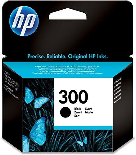 HP 300 | Zwarte cartridge | Thermische HP inkjettechnologie | Voor gemiddeld 200 pagina's