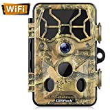 Campark Trail Camera-WiFi 20MP 1296P Hunting Game Camera with Night Vision Motion...