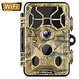 Campark WiFi 20MP 1296P Caméra de Chasse Caméra de Surveillance Étanche...