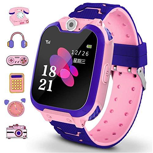Winnes - Smartwatch per bambini con 7 giochi, funzione musica e sveglia, fotocamera, per 3 12 anni