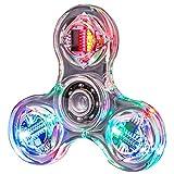 ATATMOUNT nouveauté Plusieurs changements LED Fidget Spinner Lumineux Main Top Spinners Brillent dans l'obscurité EDC Jouets Anti-Stress
