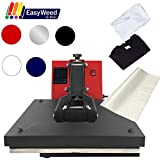 USCutter 15'x15' Digital Heat Press Machine, T-Shirts, Vinyl, Non...