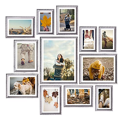 Homemaxs 12 Pack Picture Frame Sets for Wall Collage, Family...