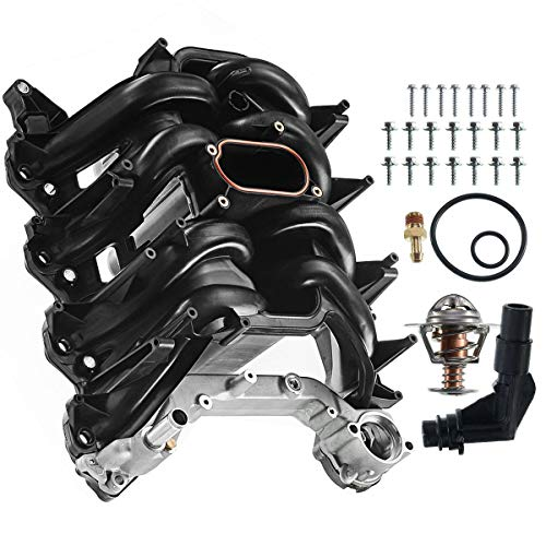 A-Premium Upper Intake Manifold with Gasket Kit Replacement for Ford Expedition Excursion F-150 E-150 E-250 E-350 Super Duty