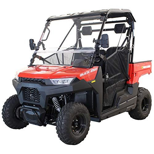 Massimo Buck 250 | EFI w/Cargo Bed, Roof, Windshield, 2WD...