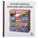 Exacompta - 78E - Piqure Budget des Dépenses Ménagères - 27/25 - 56 Pages