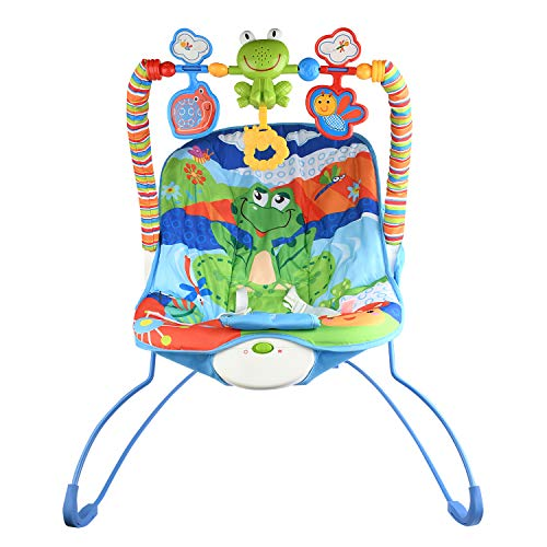 Zest 4 Toyz Musical Cartoon Hanging Toy Bouncer Set Baby Swing Chair (0-24 Months, Carrying Capacity...