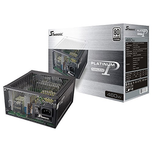 Seasonic ATX 460 Active PFC F3 80 PLUS Platinum Fanless ATX12V/EPS12V Power Supply SS-460FL2 by Seasonic 並行輸入品