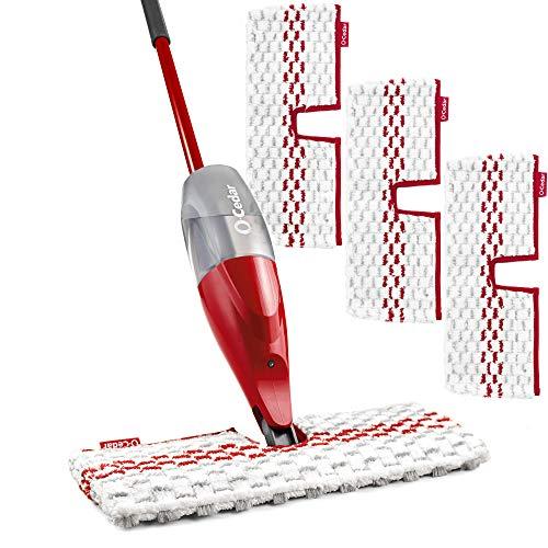 Product Image 1: O-Cedar ProMist MAX Microfiber Spray Mop with 3 Extra Refills