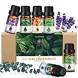 Kit Huiles Essentielles 6x10ml GLAMADOR-Coffret Huile Aromathérapie...