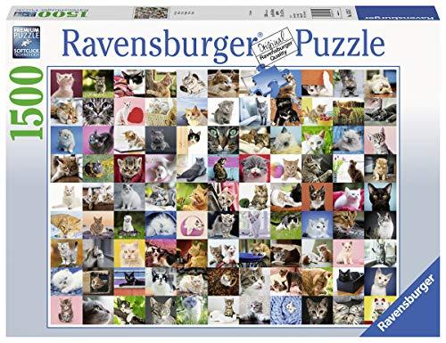 Ravensburger 99 Gatti Puzzle, 1500 Pezzi, 16235