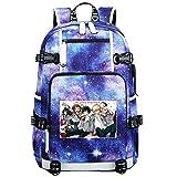GOYING My Hero Academia Midoriya Izuku/Todoroki Shoto Anime Laptop Backpack Bag Travel Laptop Daypacks Bolso Ligero con USB-A