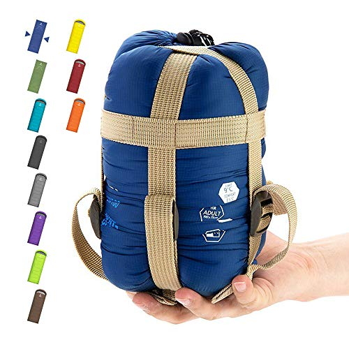 ECOOPRO Warm Weather Sleeping Bag - Portable, Waterproof, Compact...