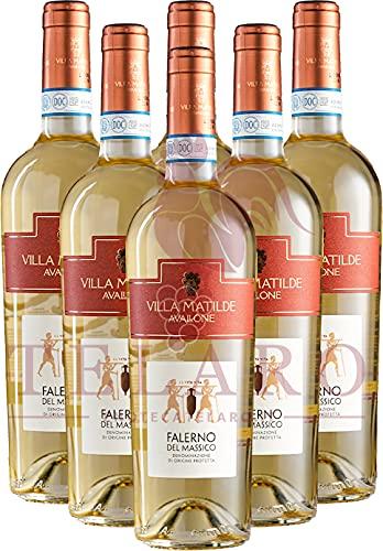 Avallone Falerno Del Massico Bianco DOP Villa Matilde 2019 Promo Vino Bianco Campano Offerta 6 Bottiglie