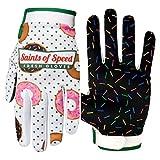 Saints of Speed Mountain Bike & Motorcycle Gloves (Large, Glazers)