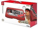 Officiellement licencié par Nintendo & Capcom Fighting Stick à l'effigie de Ryu Compatible avec Switch & PC/Steam Joysticks et boutons Hayabusa développés par HORI