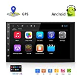LEXXSON Android 8.0 Octa Core 2G DDR3 + 16G Car Radio Stereo 7 inch Capacitive Touch Screen High Definition 1024x600 GPS Navigation Bluetooth USB SD Player NAND Memory Flash SP-AT2018-2G16