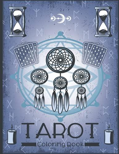 Tarot Coloring Book: Color Your Own Tarot | Tarot Card Book