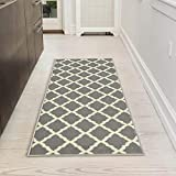 Silk Road Concepts Collection Contemporary Rugs, 20' x 59', Gray