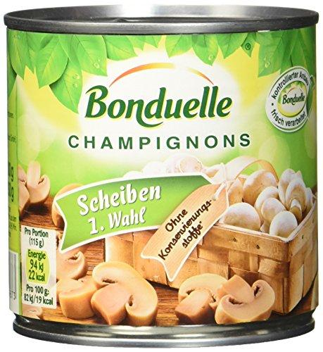 Bonduelle Champig. Gourmet-Scheiben , 6er Pack (6 x 400 g Dose)