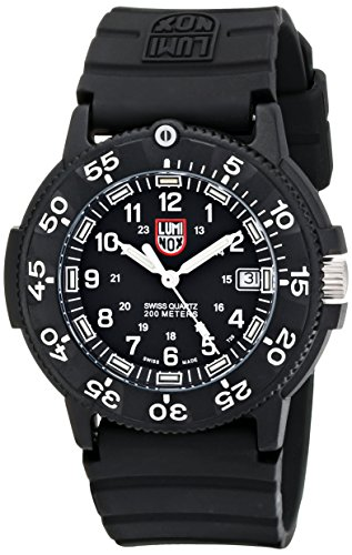 Luminox Men's 3001 Quartz Navy Seal Dive Watch