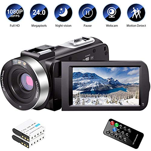 51U6Rord1 L - The 7 Best Budget Camcorders