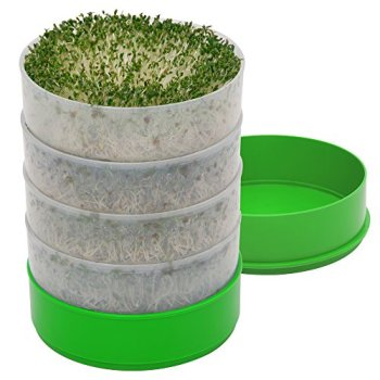 """Kitchen Crop VKP1200 Deluxe Kitchen Seed Sprouter, 