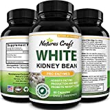 White Kidney Bean Carb Blocker - Natural Appetite Suppressant and Metabolism Booster for Weight Loss for Women - White Kidney Bean Extract Belly Fat Burner Keto Pills Natural Weight Loss Supplement